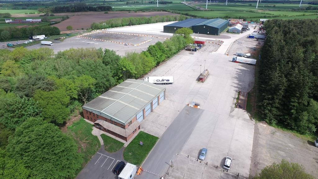 Land at Woodlands Industrial Storage Estate, Longtown
