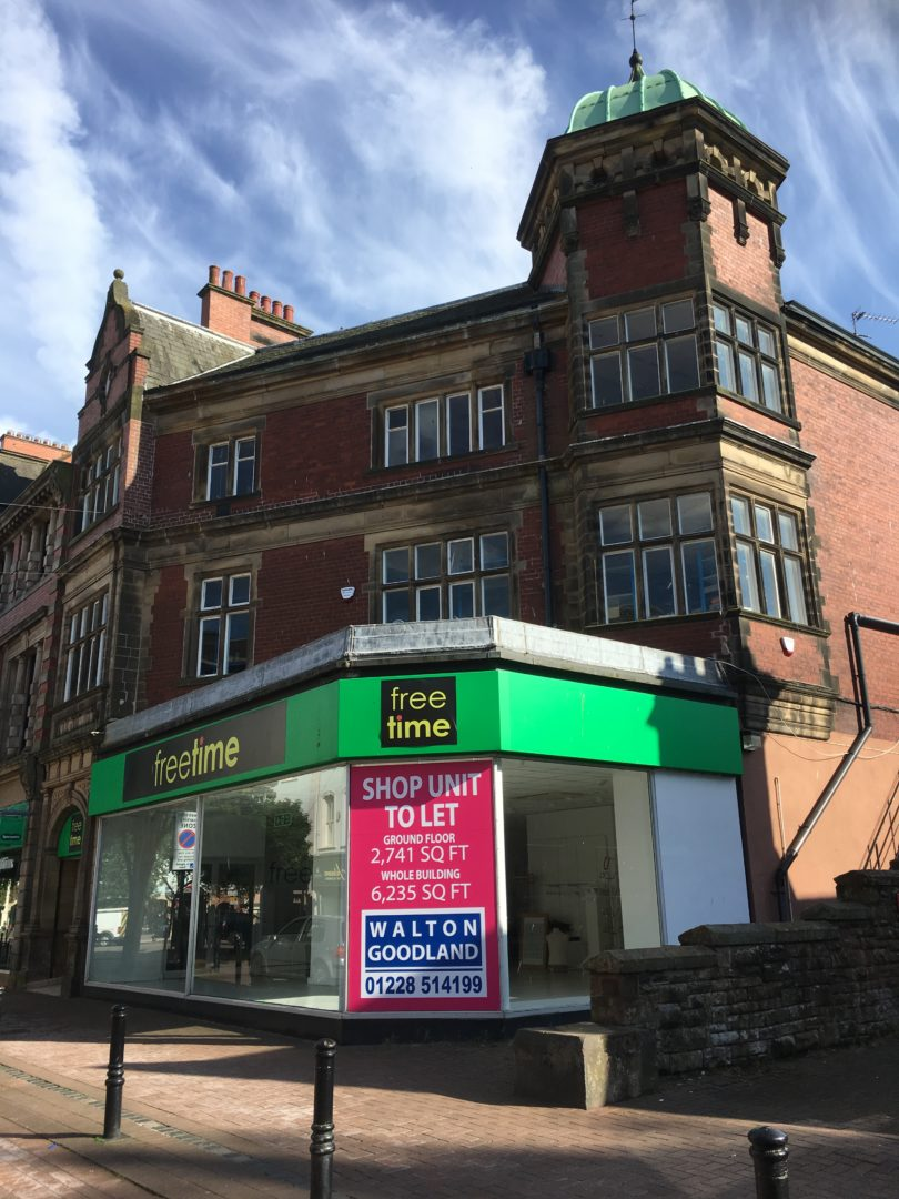 46-48 Castle Street, Carlisle – UNDER OFFER
