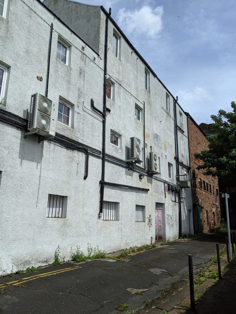 Former Club XS, West Walls, Carlisle