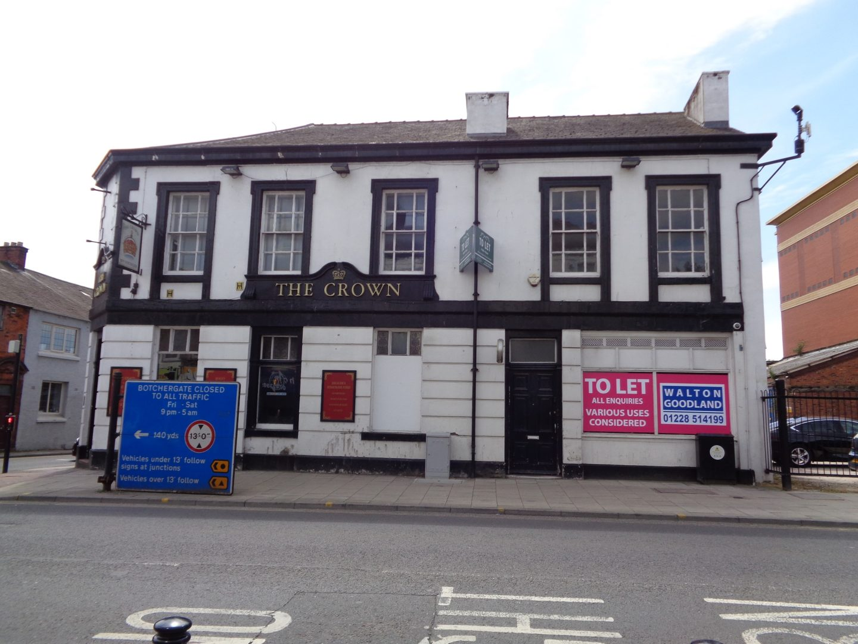 Former Crown Inn, 90 Botchergate, Carlisle – UNDER OFFER