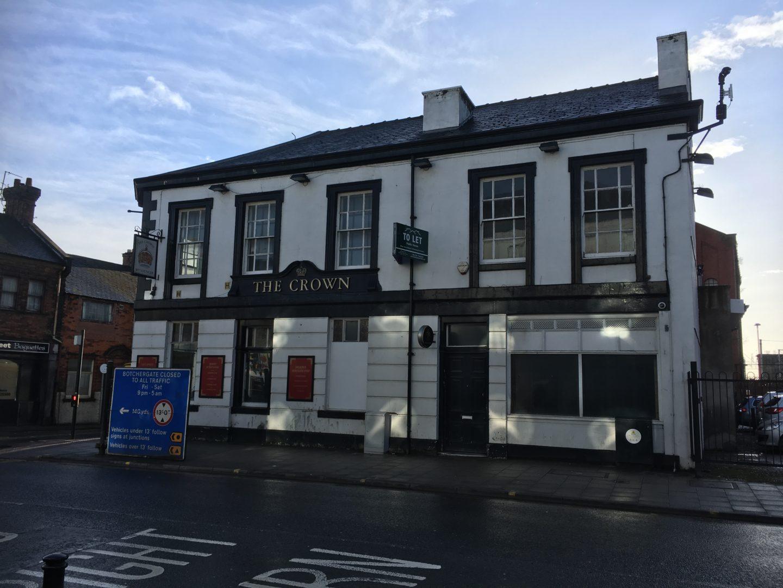 Former Crown Inn, 90 Botchergate, Carlisle