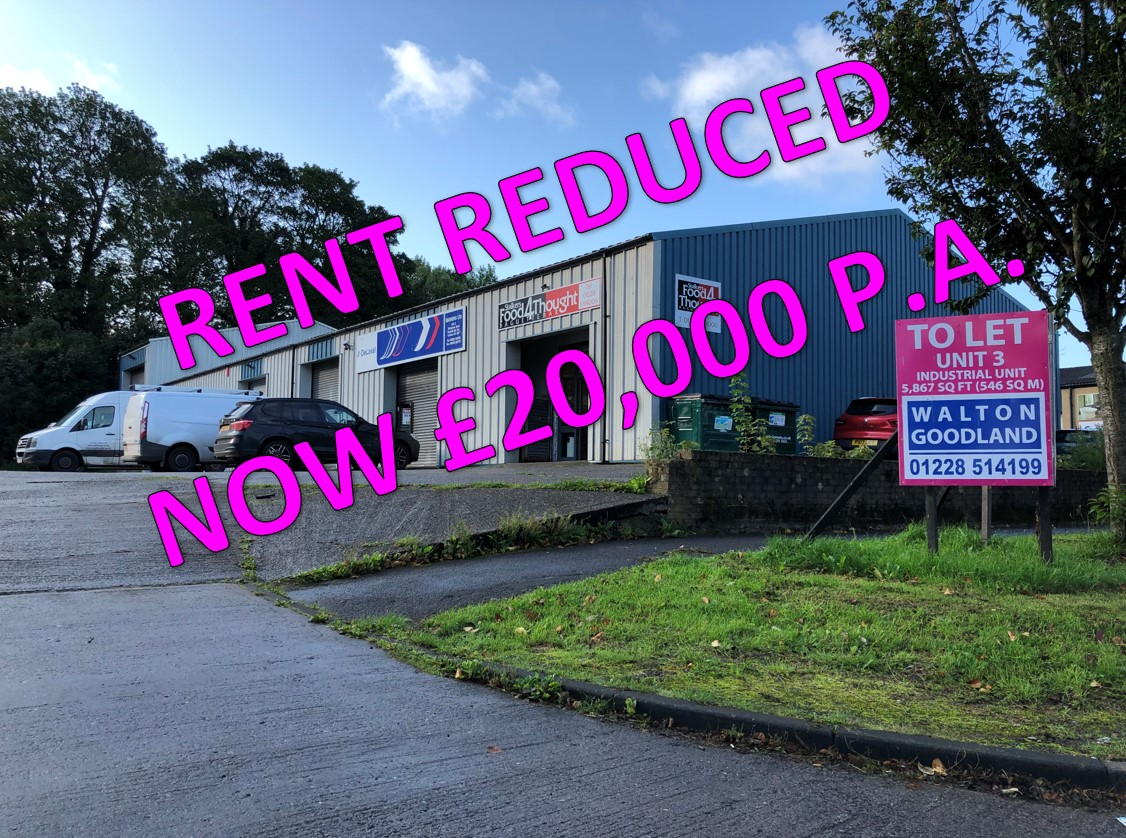 Unit 3, Site 11, Allenbrook Road, Carlisle – LET (SUBJECT TO CONTRACT)