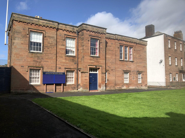 Former Regimental HQ, Carlisle Castle