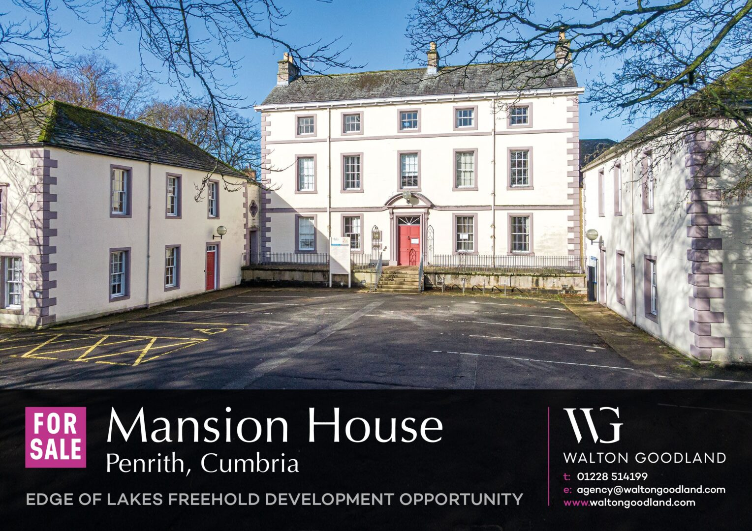 Mansion House, Penrith, Cumbria